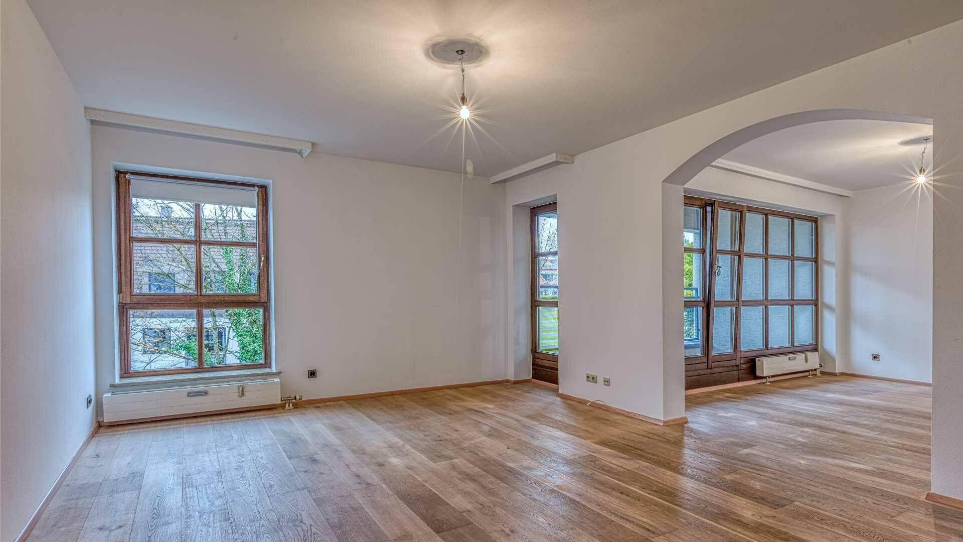 Moosach Wohnung Wohnzimmer