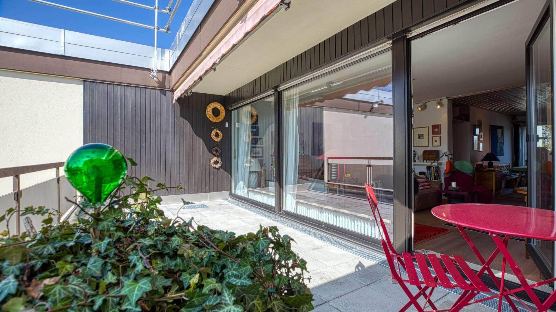 Obermenzing Wohnung Terrasse