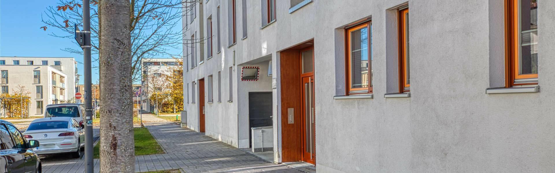 Riem Wohnung Hausansicht