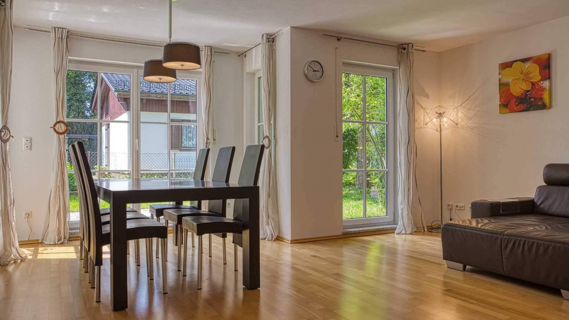 Solln Wohnung Wohnzimmer