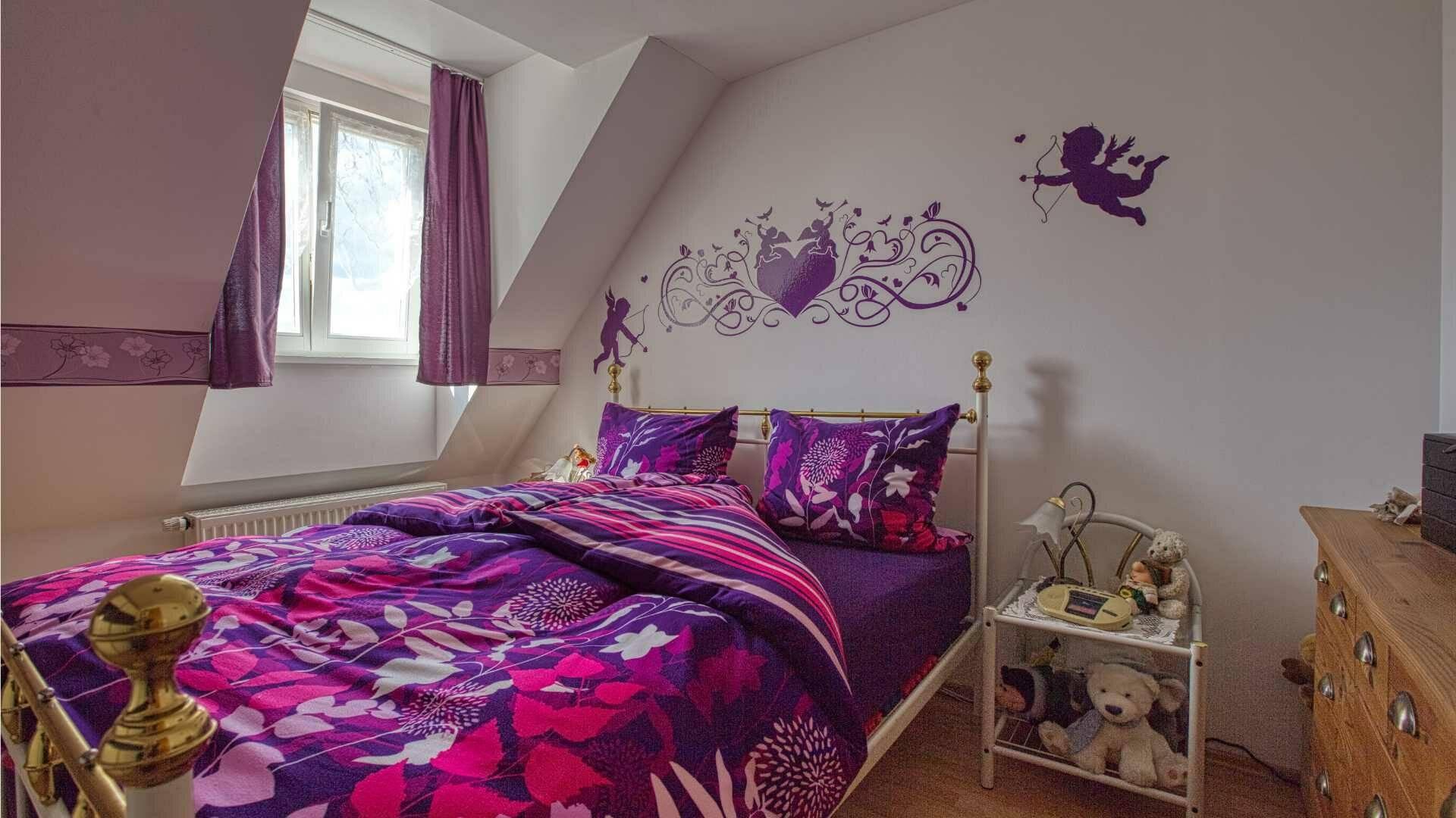 Trudering Wohnung Schlafzimmer