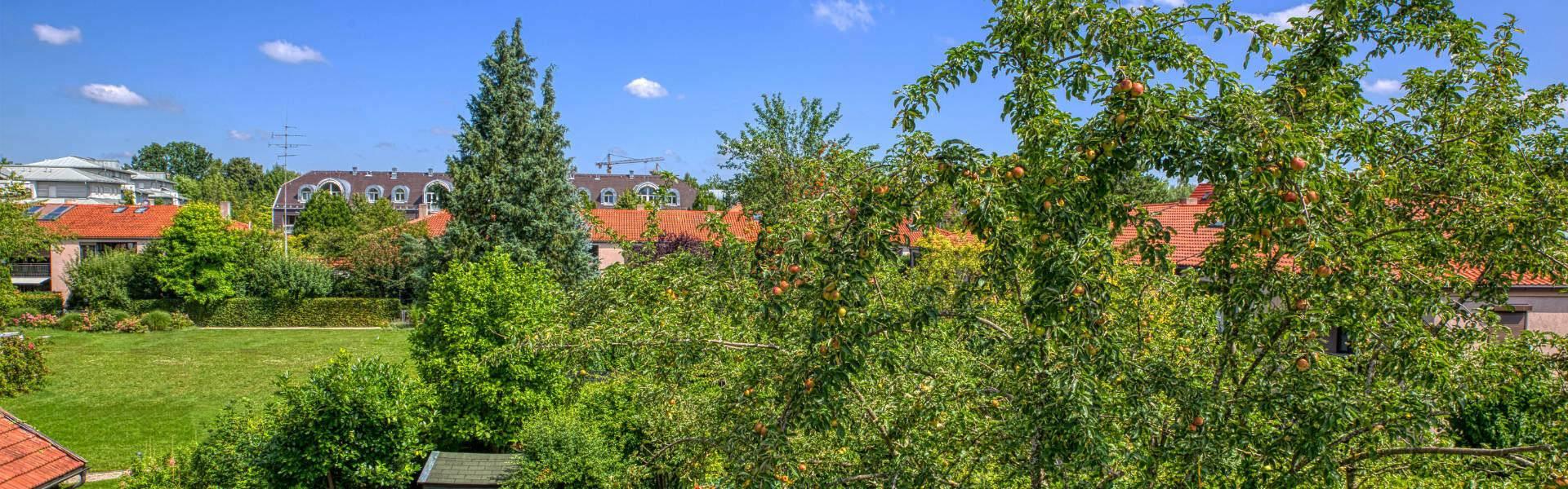 Bogenhausen DHH Garten