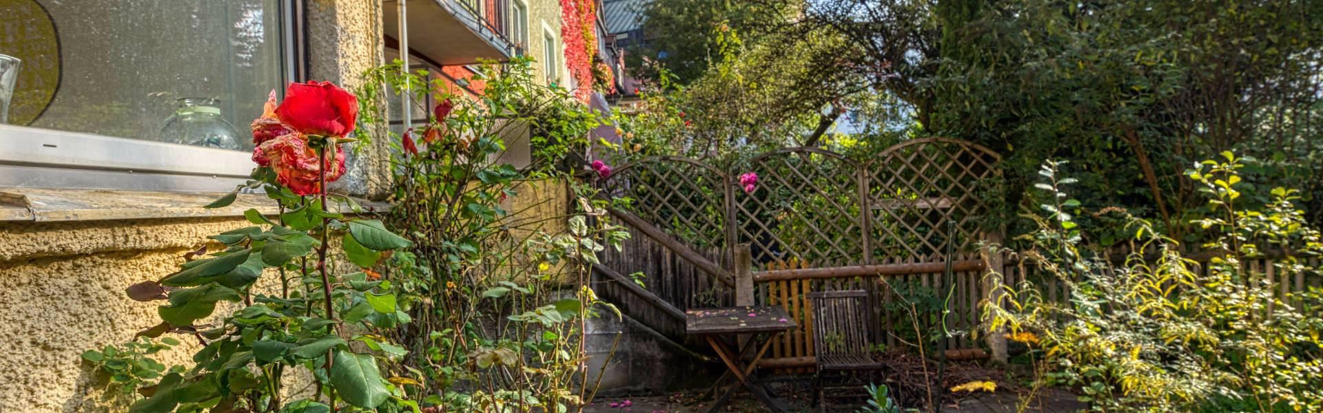 Obersendling Wohnung Garten