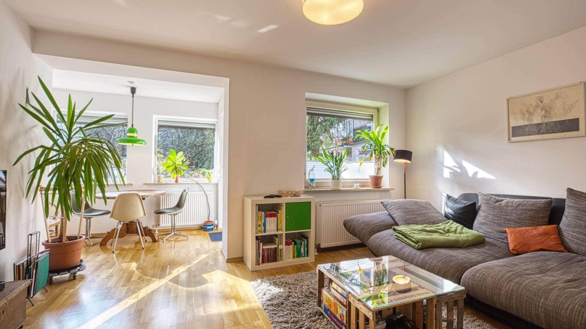 Obersendling Wohnung Wohnzimmer