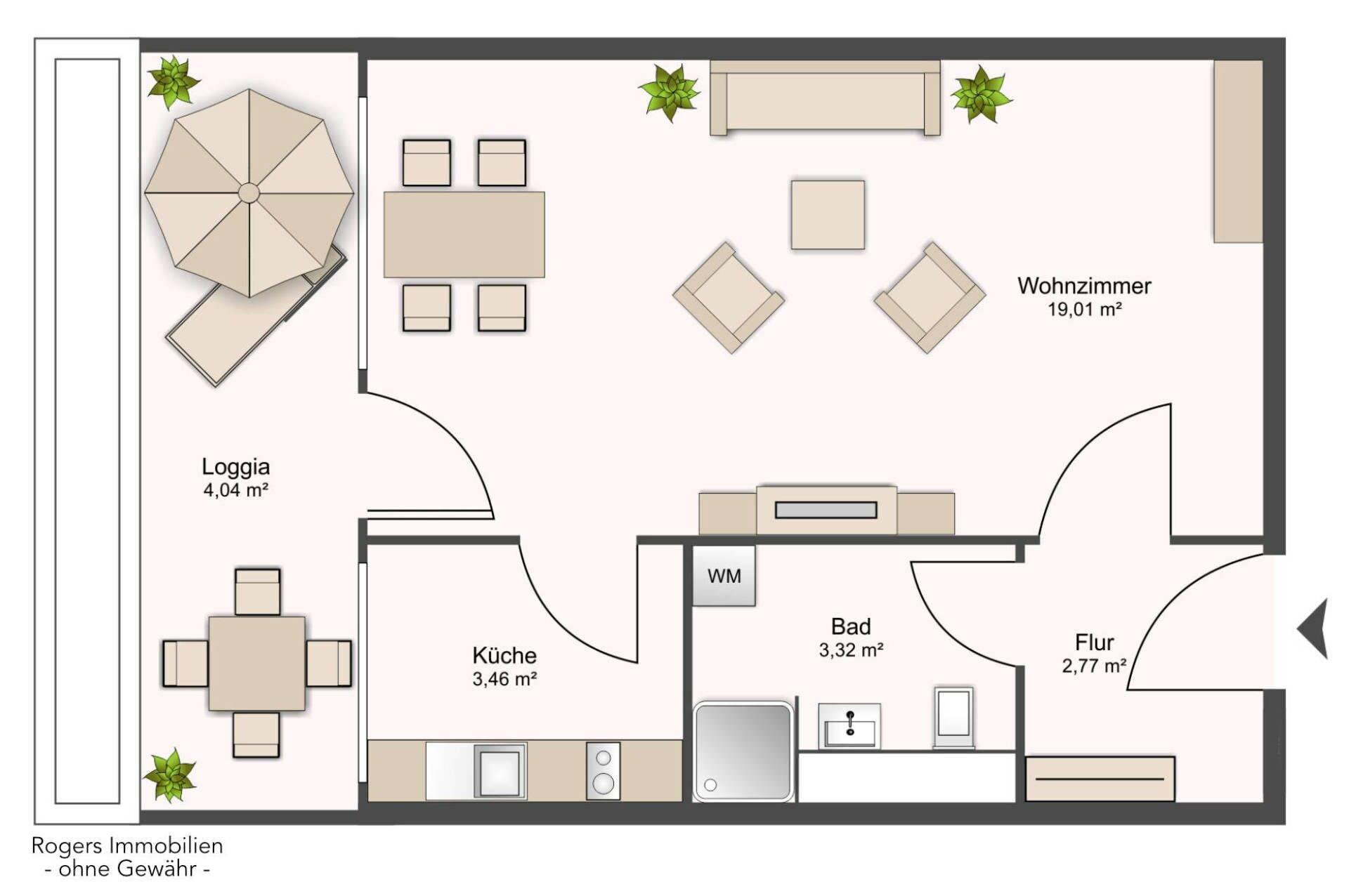 Laim Wohnung Grundriss