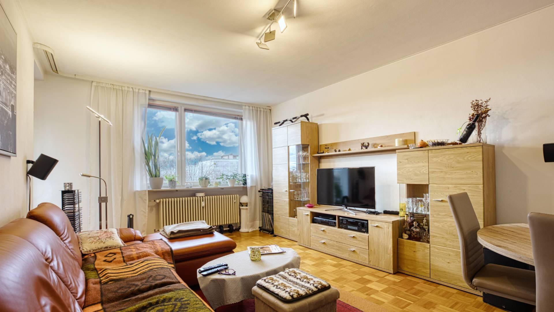 2-Zi-Whg Wohnzimmer